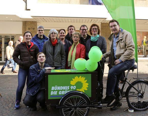 Die Grünen im Ortsverband 2014