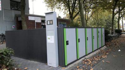12 sichere, abschließbare Fahrradboxen am Hauptbahnhof. Es kommt Bewegung in die Fahrradförderung.