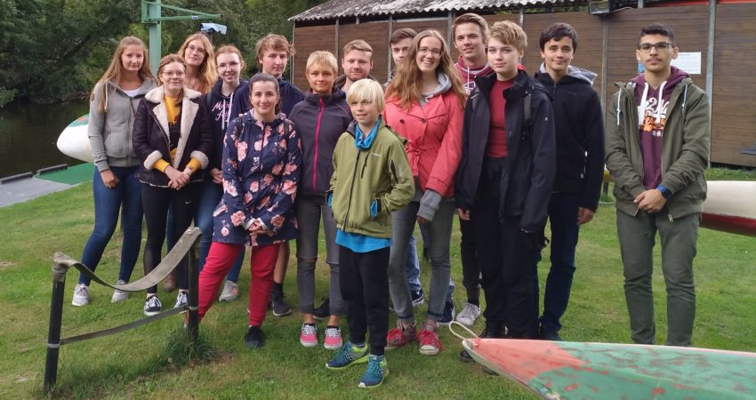 Kajaktour der Grünen Jugend
