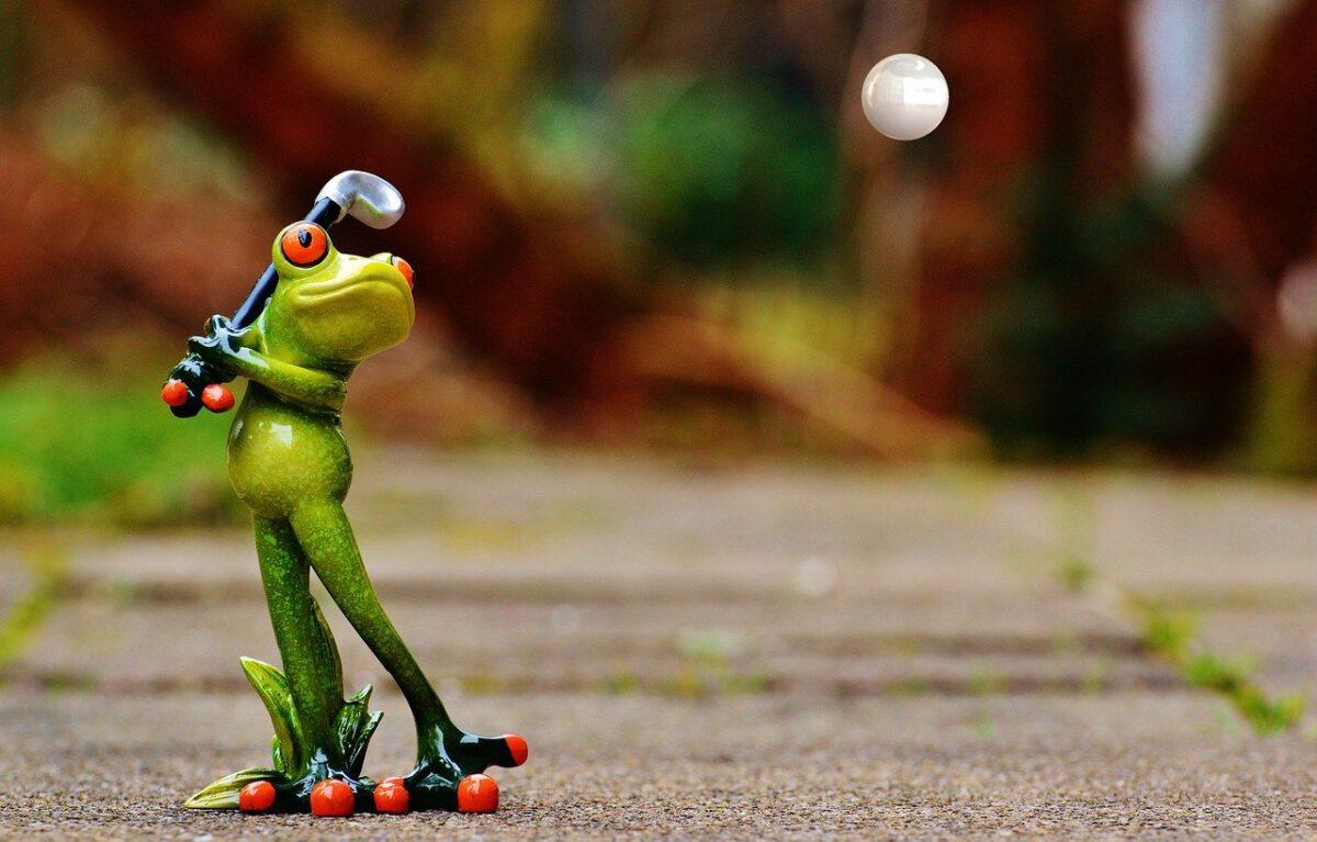 Green Frog Minigolf-Turnier