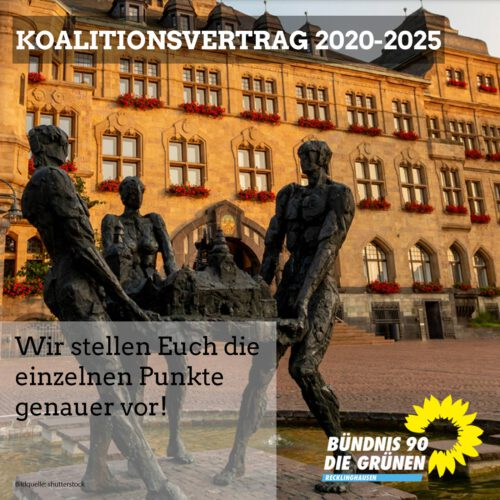 Koalitionsvertrag 2020-2025