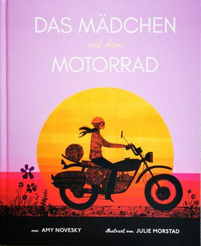 """Buchtitel """"Das Mädchen auf dme Motorrad"""""""